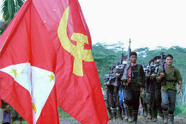 TALKS MUST RESUME. New People's Army guerrillas. Photo courtesy of NDF