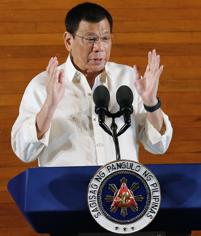 an analysis of the inaugural speech of president duterte President rodrigo duterte is expected to make his inaugural address on thursday, june 30 after a ceremonial swearing-in by chief justice bienvenido reyes president rodrigo duterte will be officially sworn-in for his term on thursday, june 30 and facebook will live be streaming the entire event .