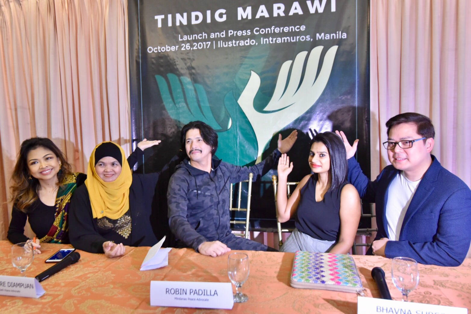 RECOVERY. Launch of Tindig Marawi at Illustrado restaurant in Intramuros, Manila on October 26, 2017. Photo by LeAnne Jazul/Rappler