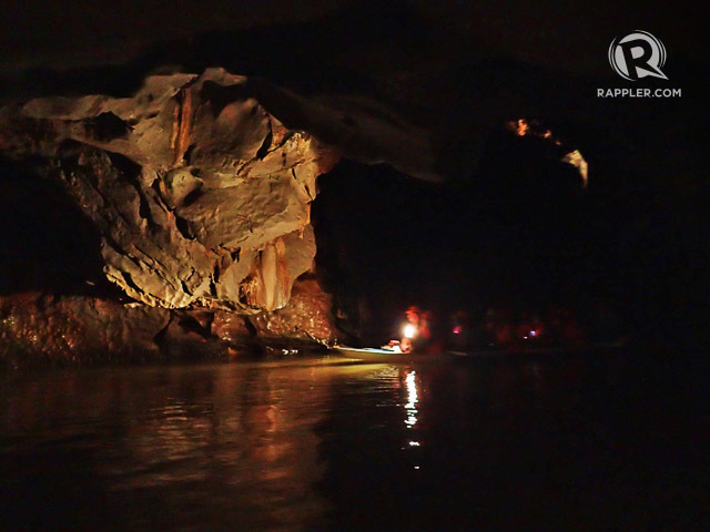 RIVER AND CAVE TOUR. Enjoy looking at the cave formations while your guide paddles your boat and points out interesting sights