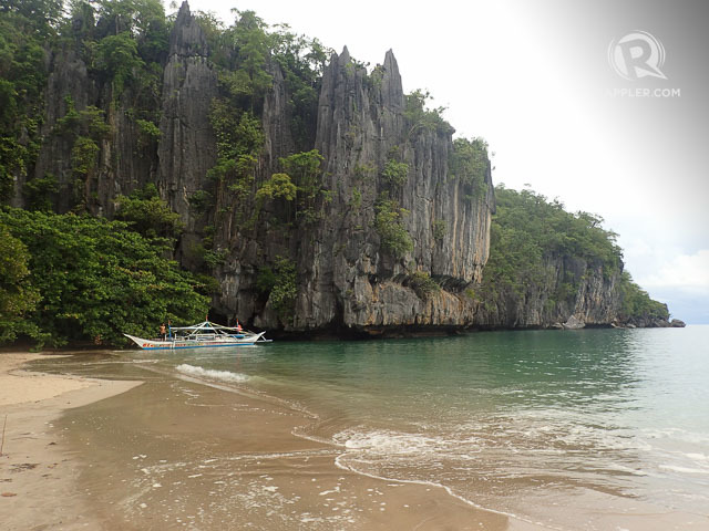 BEAUTIFUL ANY SEASON. Puerto Princesa has nice beaches like this one near the Underground River