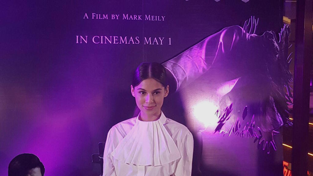 JASMINE CURTIS SMITH. The actress calls for support for her latest film 'Maledicto' as it screens alongside box office heavyweight 'Avengers: Endgame.' Photo by Alexa Villano/Rappler