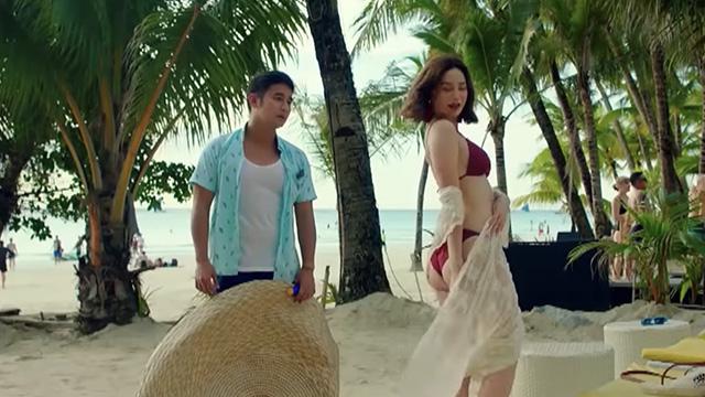 'LAST FOOL SHOW.' JM de Guzman and Arci Muñoz team up in the movie. All screenshots from YouTube/ABS-CBN Star Cinema