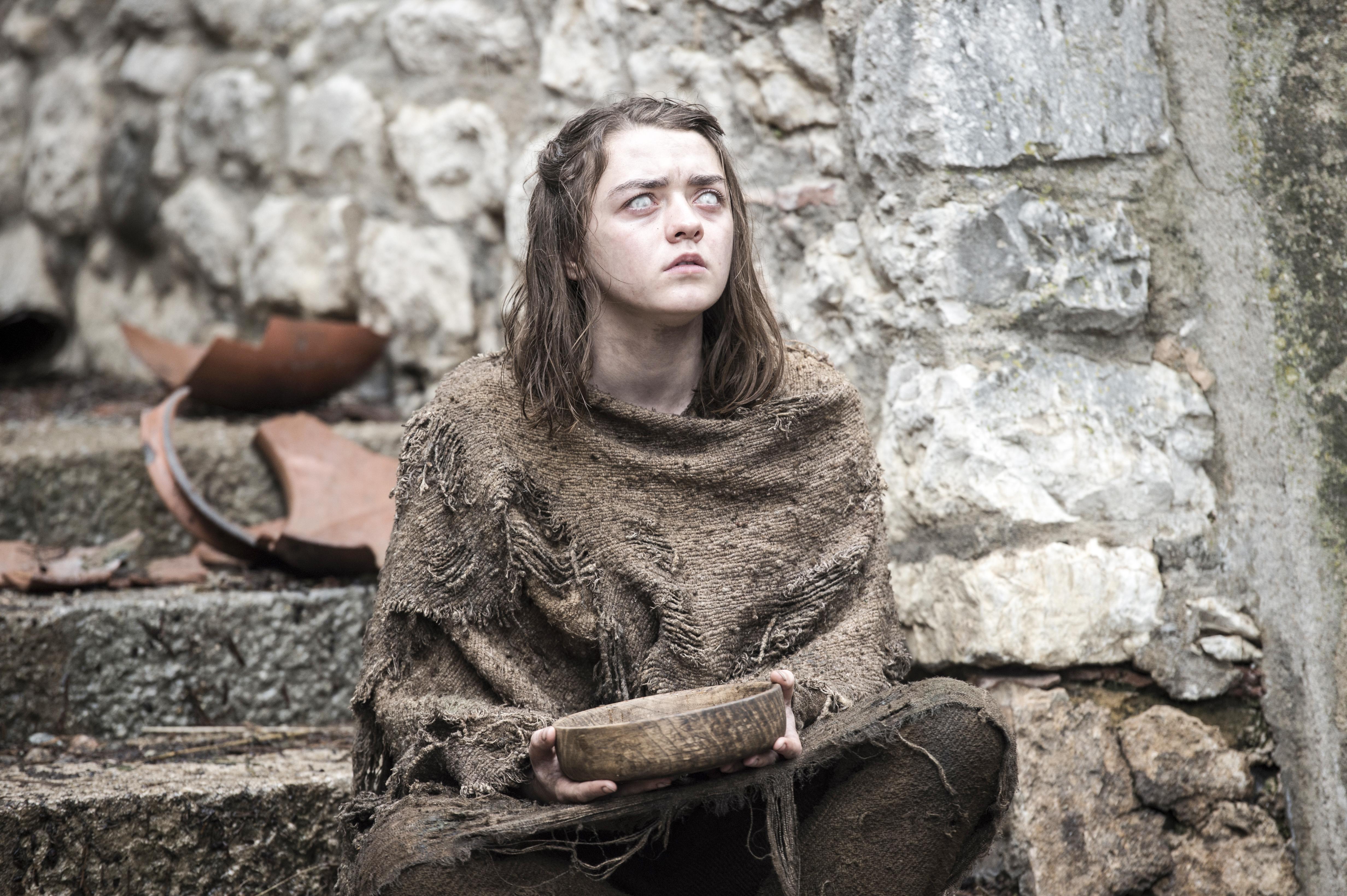 Maisie Williams as Arya Stark. Photo by Macall B. Polay/HBO