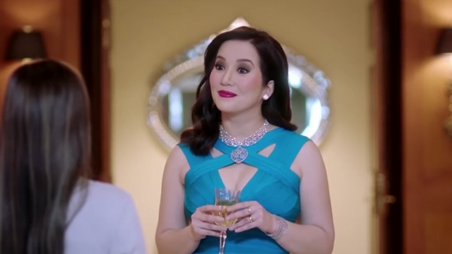 AUDITION. Kris Aquino tries out for a role in 'Crazy Rich Asians.' Screenshot from Facebook.com/krisaquino
