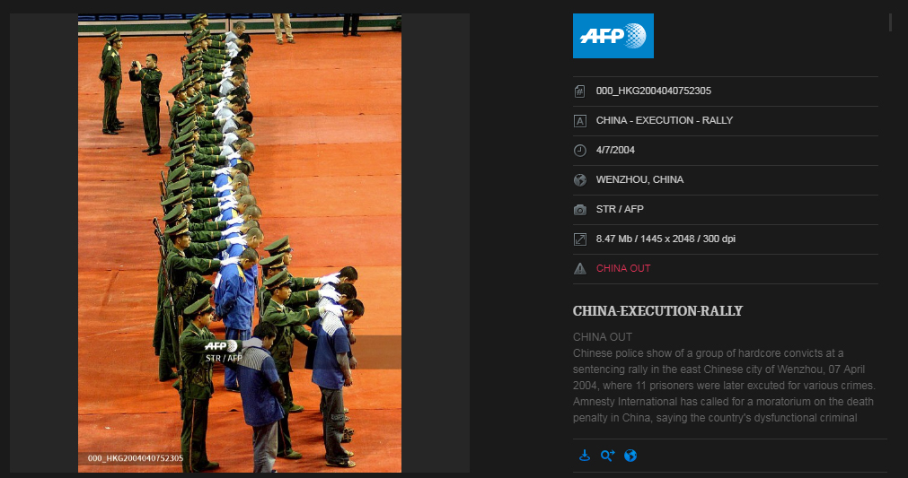 MISLEADING: China executed '26 corrupt government officials'