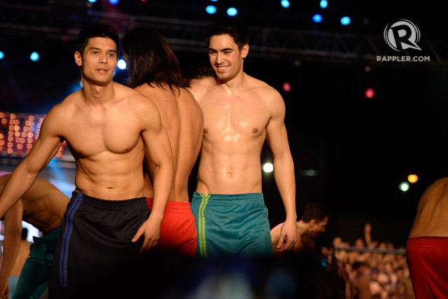 Hot Pinoy hunks flaunt sexy bods at Cosmo Bachelor bash 2015