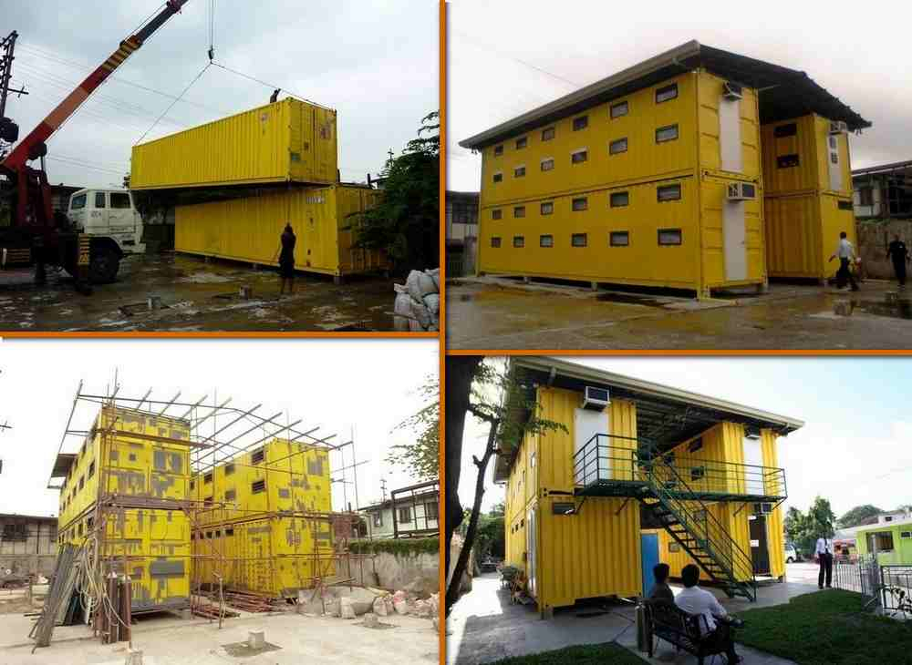 Executive Edge Turning Container Vans Into Affordable Dorms