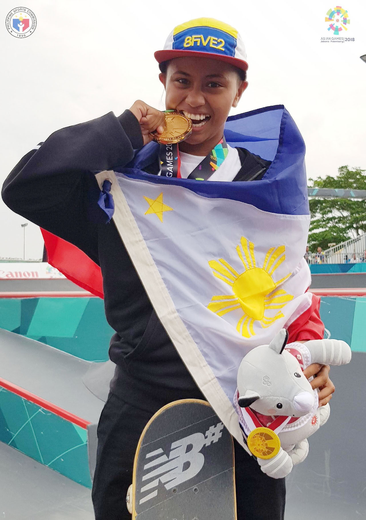 Margielyn Didal skates to 4th PH gold in 2018 Asian Games