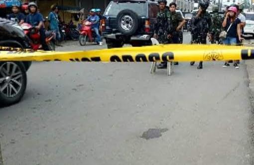 POLICE LINE in Zamboanga City, where Vice Mayor Mohammad Ali of Sapa-Sapa was killed July 11, 2018. Photo by Richard Falcatan/Rappler