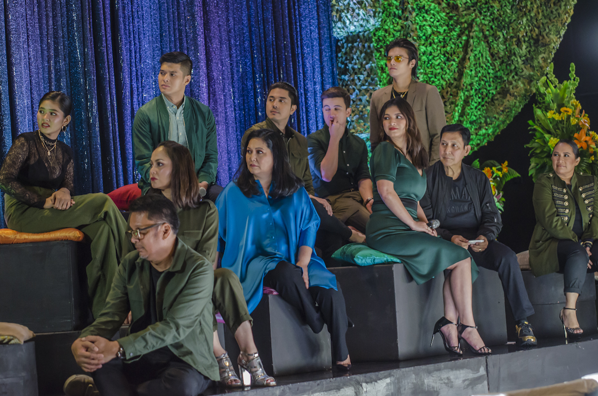 BIG CAST. Angel stars along big names such as Tirso Cruz III, Maricel Soriano, Janice de Belen, and Eula Valdez in 'The General's Daughter.'