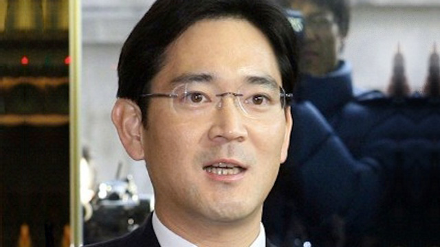 SUCCESSOR. Samsung promotes the son of its current chairman as vice chairman, paving the way for his eventual succession. Photo courtesy of AFP