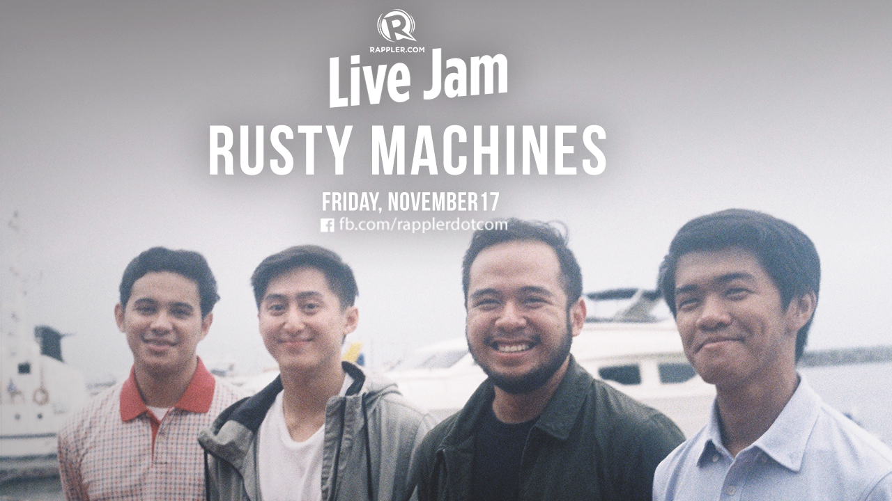 WATCH] Rappler Live Jam: Rusty Machines