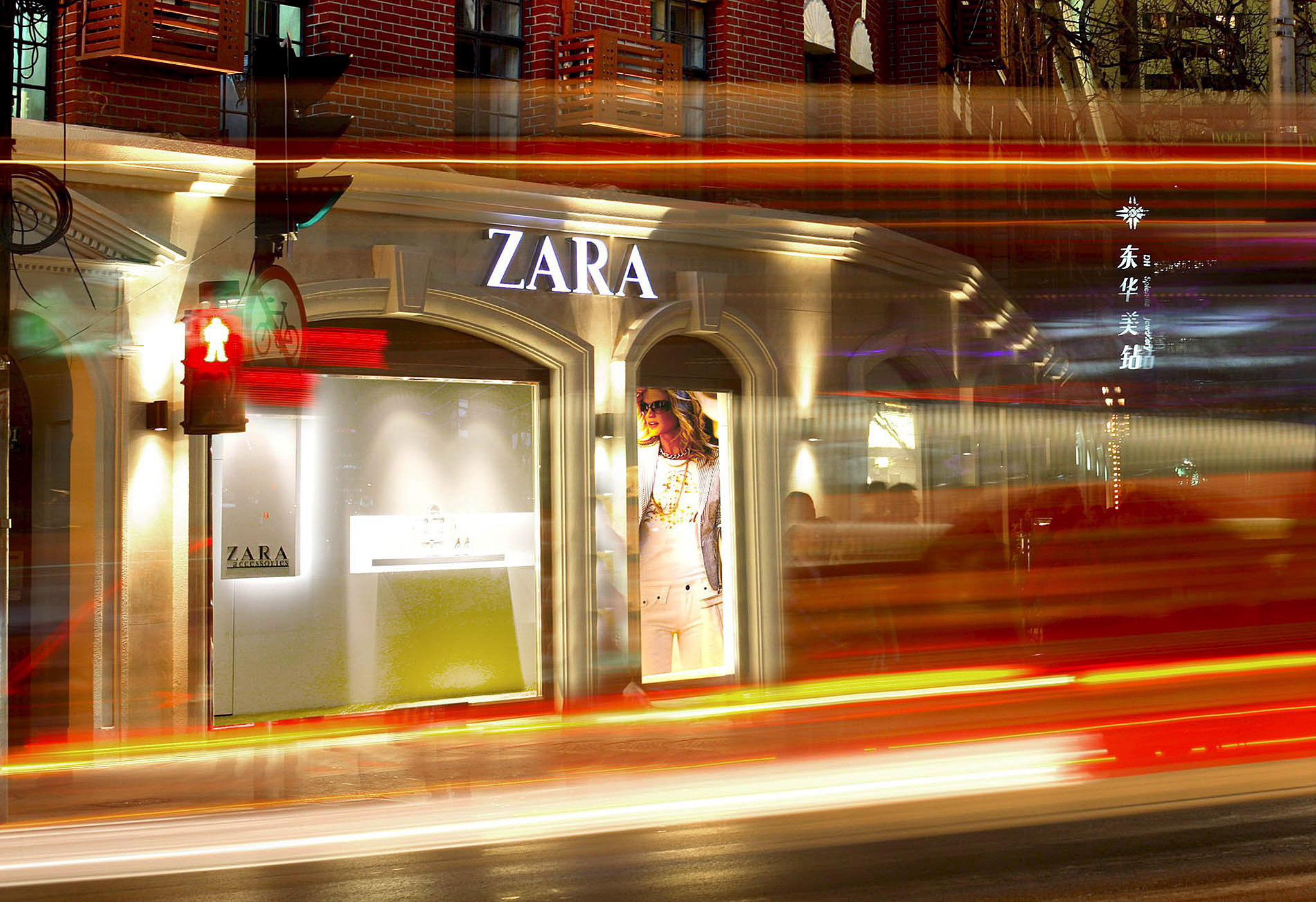 economic review of inditex Clustering for competitive advantage  a director for zara's parent company, inditex,  store managers review the list of available items provided by .