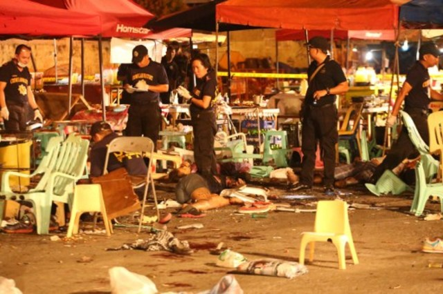 Image result for duterte and the davao city sept 3 bombing pic