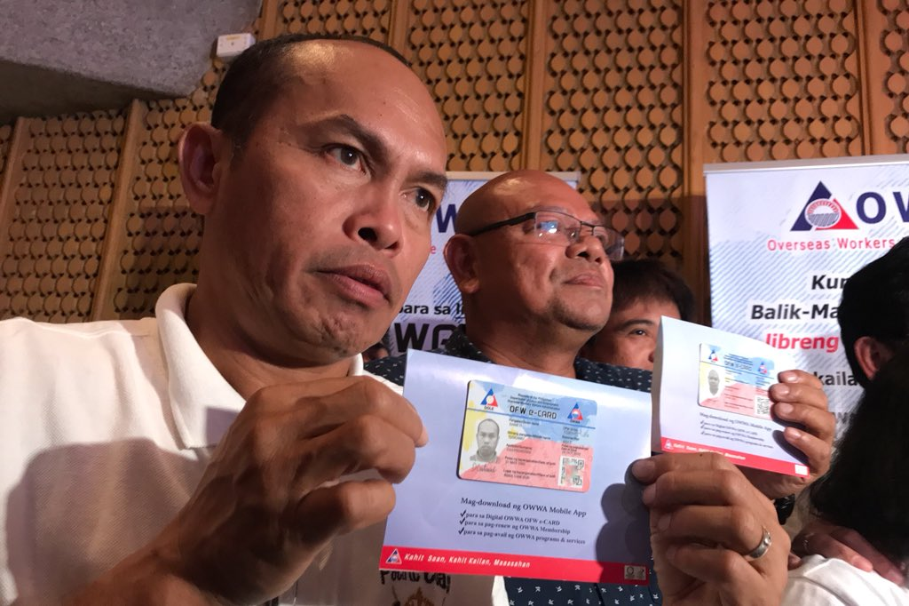 OWWA launches OFW e-card for easier access to gov't benefits