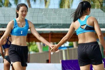 07dada90965f3 CHAMP. Thailand 2 s Nasuda Janmong and Saranya Laesood avenge their lone  loss in the finals
