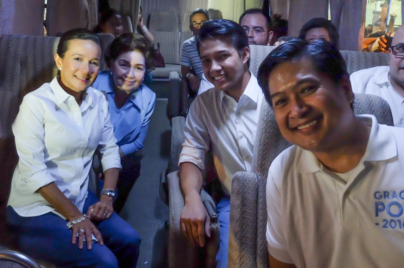 Angeline Quinto Sex Scandal in photos: stars at grace poe's miting de avance
