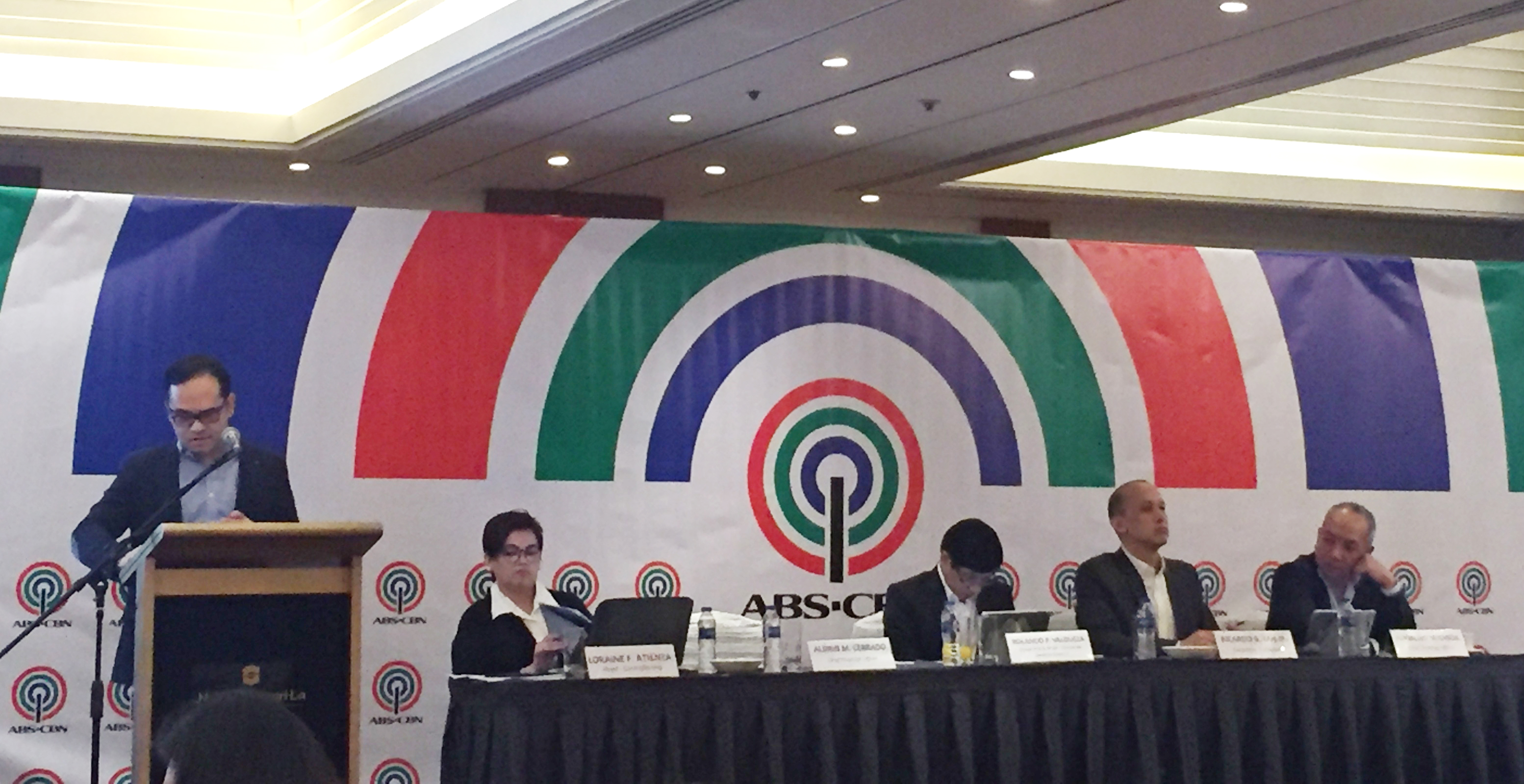 abs cbn hits 2016 target income fueled by election spending