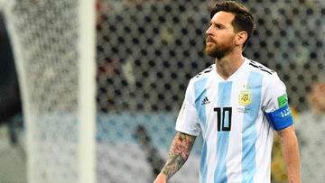 newest 46cc9 9e3d9 Messi's Argentina has a shot at World Cup redemption