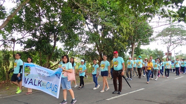 WALK FOR A CAUSE. Students, government agencies, civil society, among others, took part in the three-kilometer walk for pawikans.
