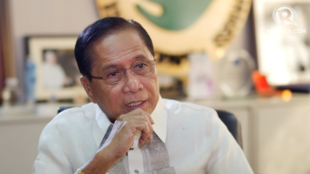 MINDANAO SECURITY. Presidential Adviser on the Peace Process Jesus Dureza says martial law in Mindanao could help ensure a successful Bangsamoro Organic Law plebiscite. Rappler photo