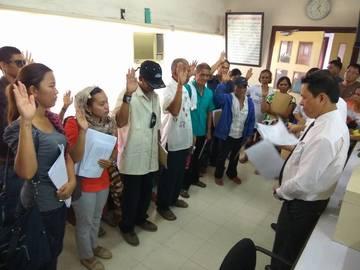 Kidapawan farmers file charges vs Aquino allies, police