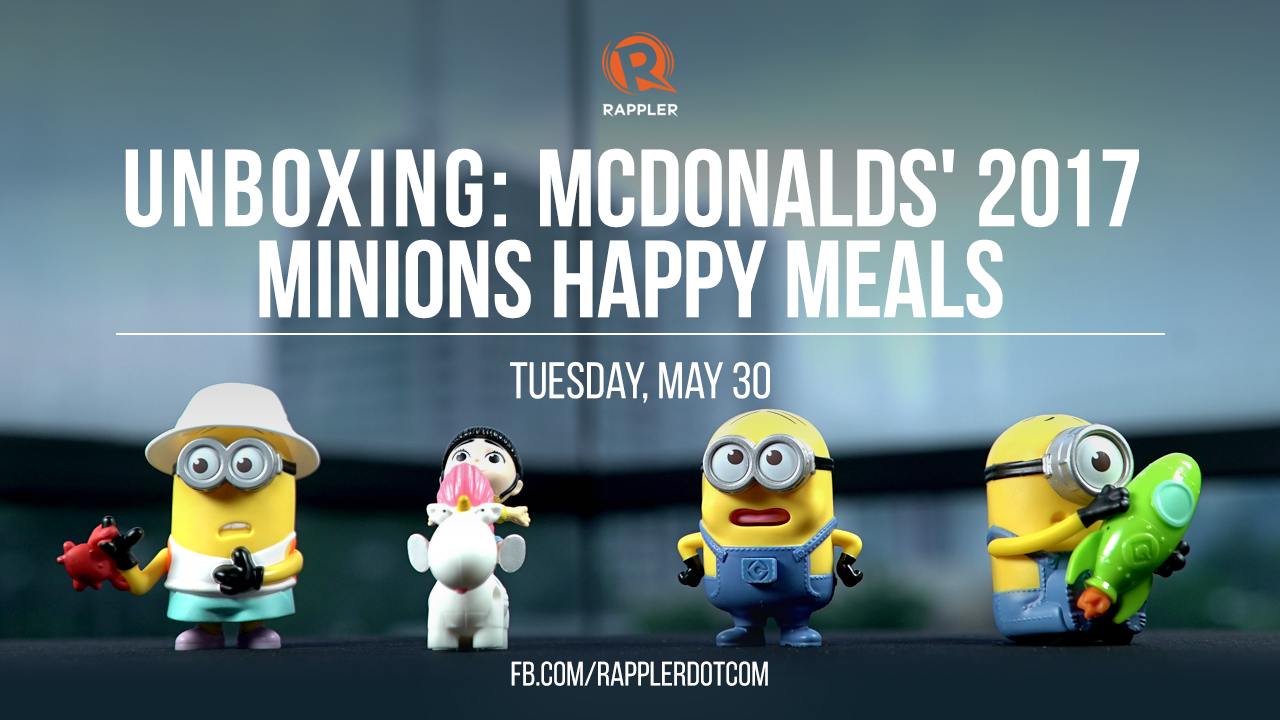 WATCH: Unboxing all 10 of McDonalds' 2017 Minions Happy Meals