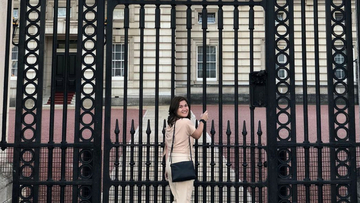 LOOK: Camille Prats brings Princess Sarah back to England
