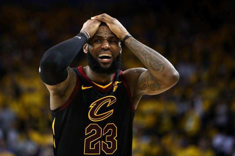 frustrated lebron tries to rally cavs in nba finals