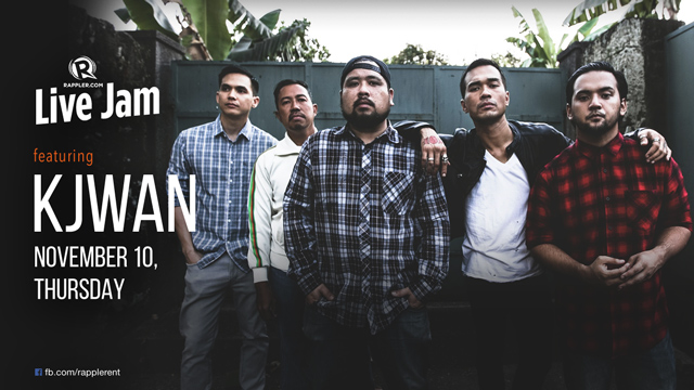 [WATCH] Rappler Live Jam: Kjwan