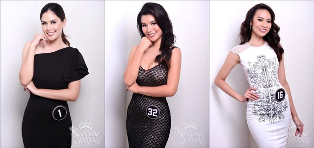 MUTYA NG PILIPPINAS. The ladies from the Mutya ng Pilipinas hope to win a crown