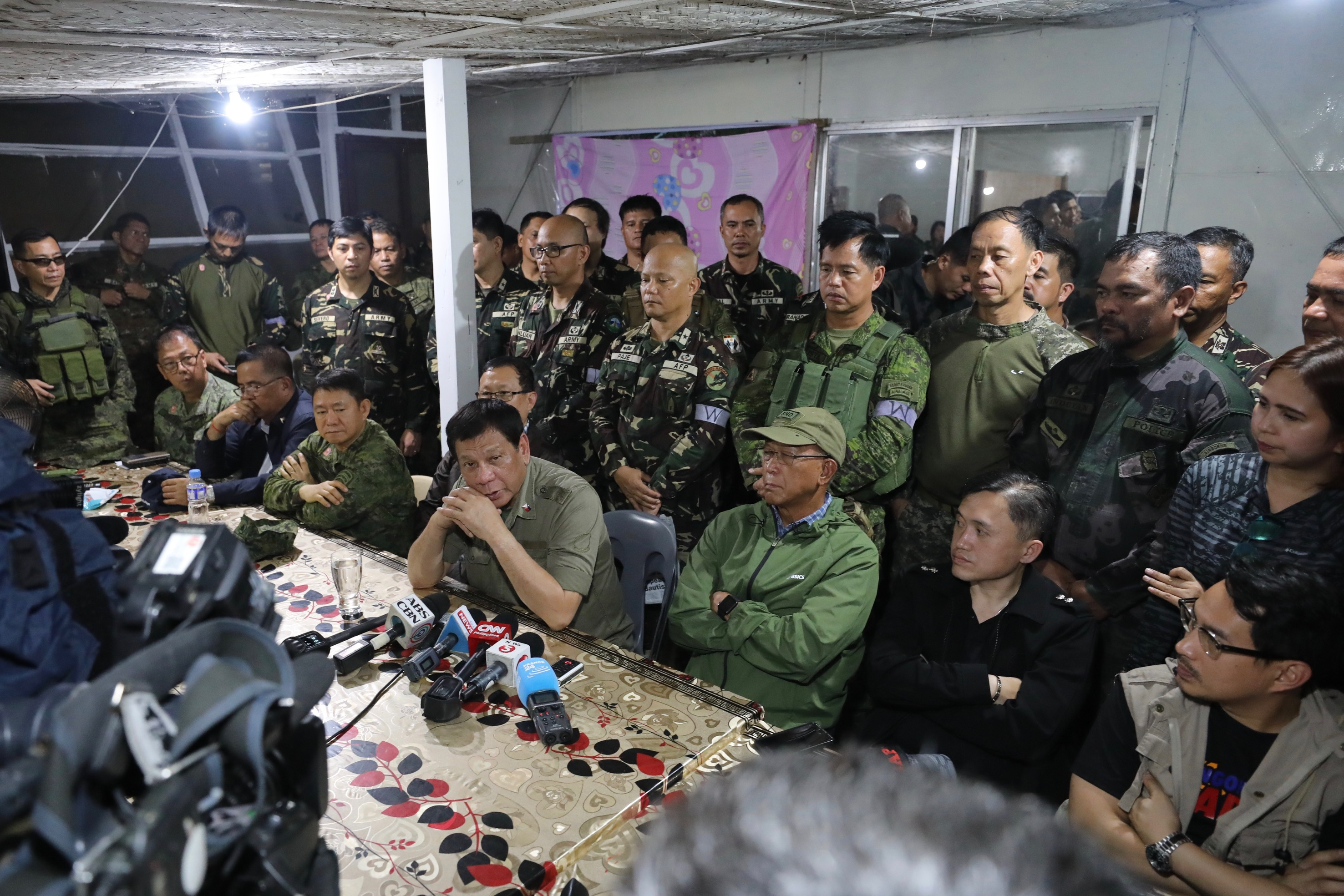 Duterte On Nationwide Martial Law: All Options On The Table