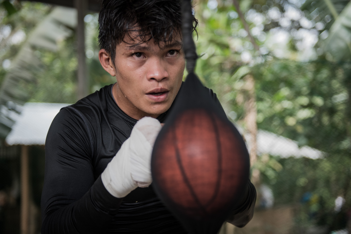 Before becoming champion, Jerwin Ancajas fought poverty and hunger