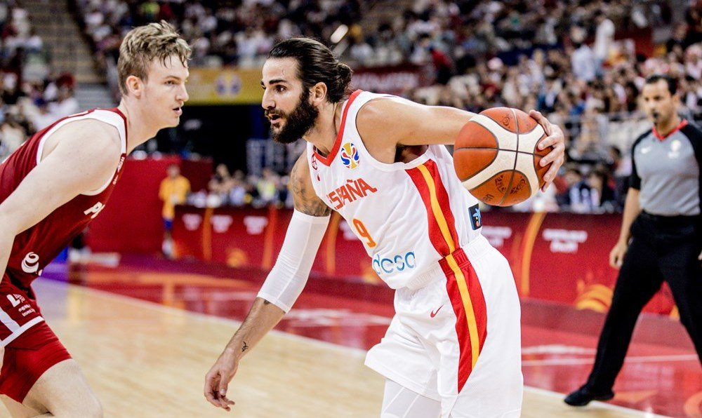 Ricky Rubio makes history to lead Spain to World Cup semis