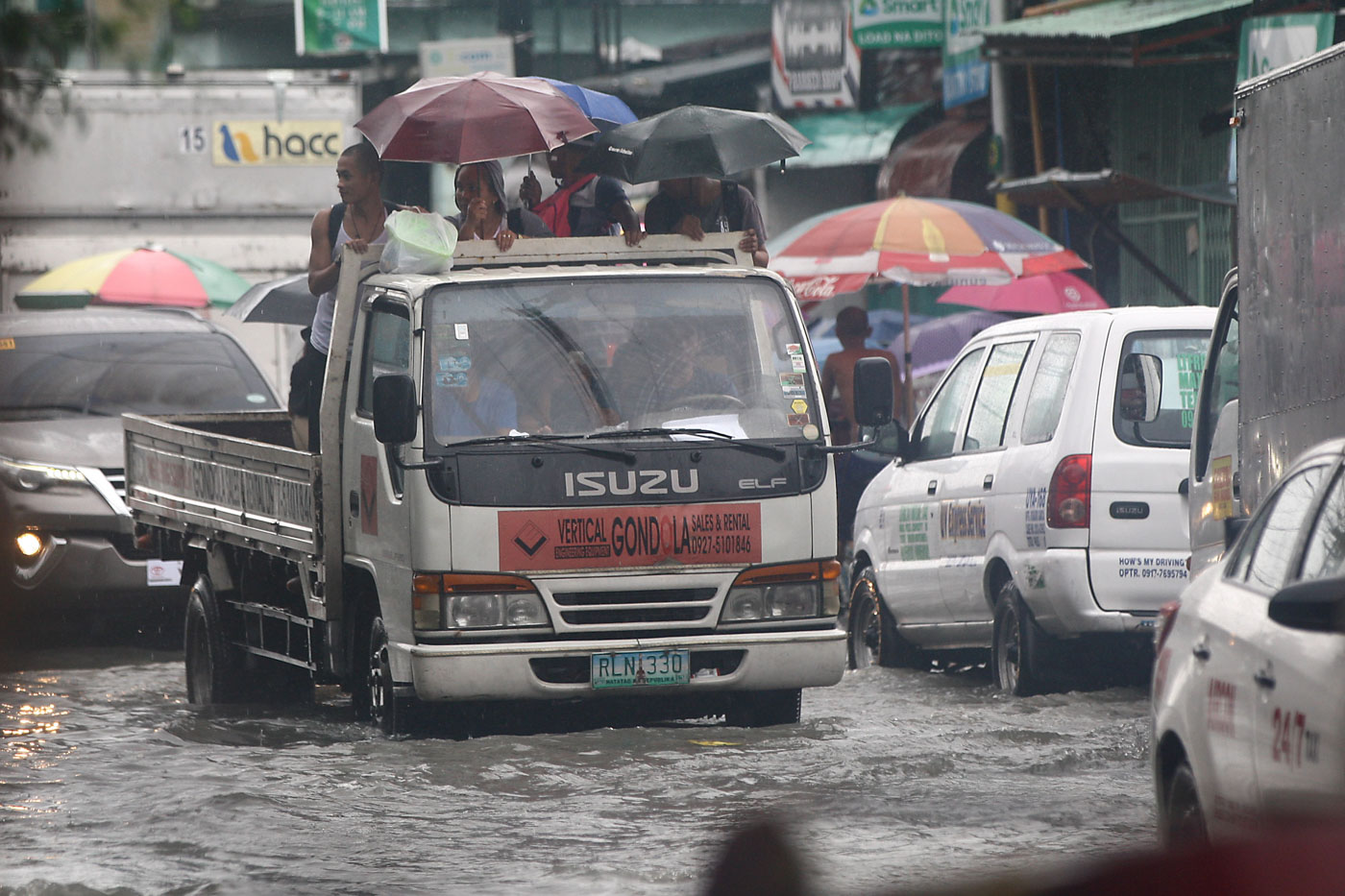 DSWD conducts relief operations for people displaced by Maring