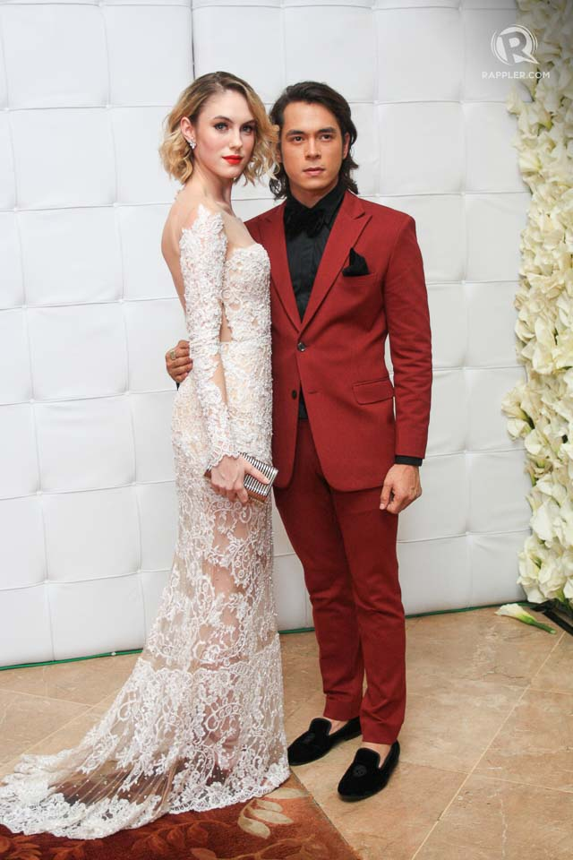 Star Magic Ball 2015 9 Adorable Couple Moments On The Red Carpet