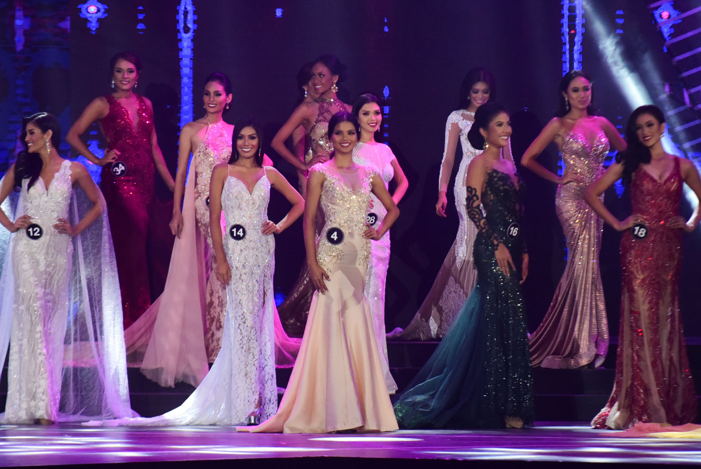 IN PHOTOS: Bb Pilipinas 2017 evening gown competition