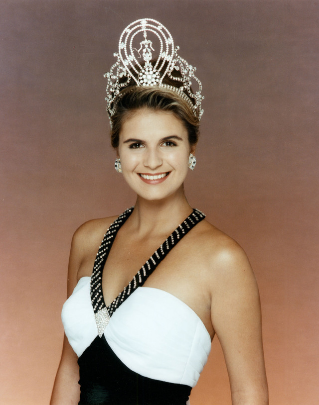 NAMIBIA'S PRIDE. Michelle McLean is Namibia's first Miss Universe, winning the title in 1992. Photo from the Miss Universe Organization