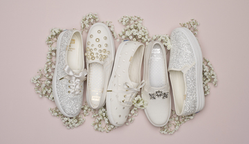00a5cc64a825 KEDS X KATE SPADE. The sneaker brand and fashion house come together for a  bridal