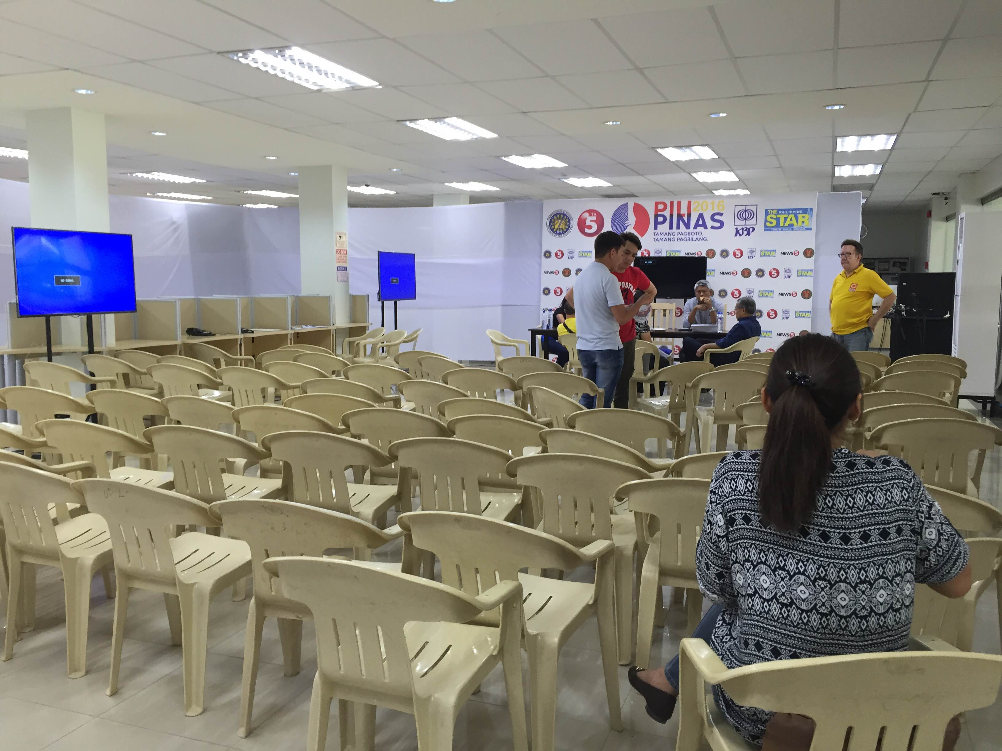 IN PHOTOS UP Cebu Venue Of The 2nd Presidential Debate