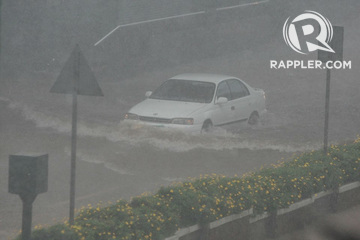 LOOK: 5 dead in Baguio City due to Typhoon Ompong flood
