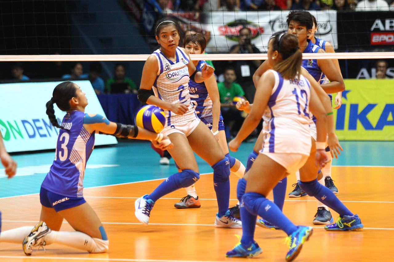 Back To Back Defeats The Philippine Team Represented By Alyssa Valdez And