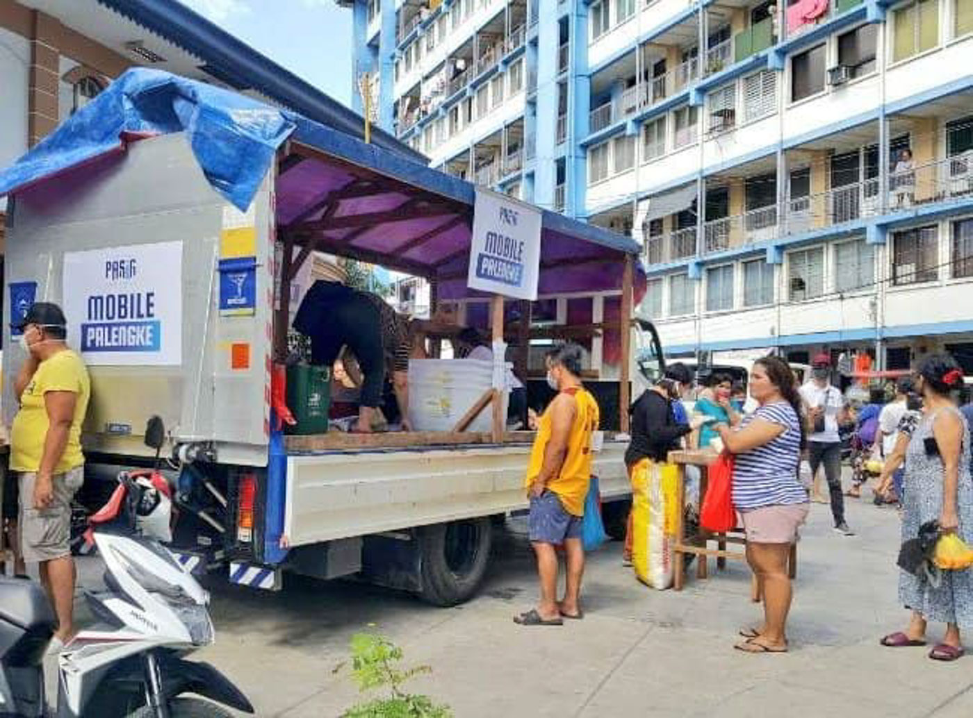 Pasig launches 'Mobile Palengke' to lessen public markets trips