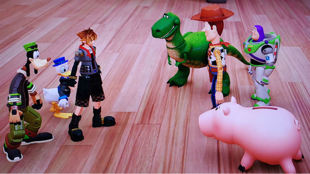 Toy Story Strong : That disney charm remains strong in kingdom hearts