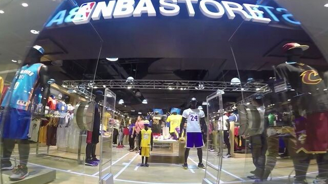 bbea5077766c The NBA has opted to scatter back its merchandise across local sports stores .