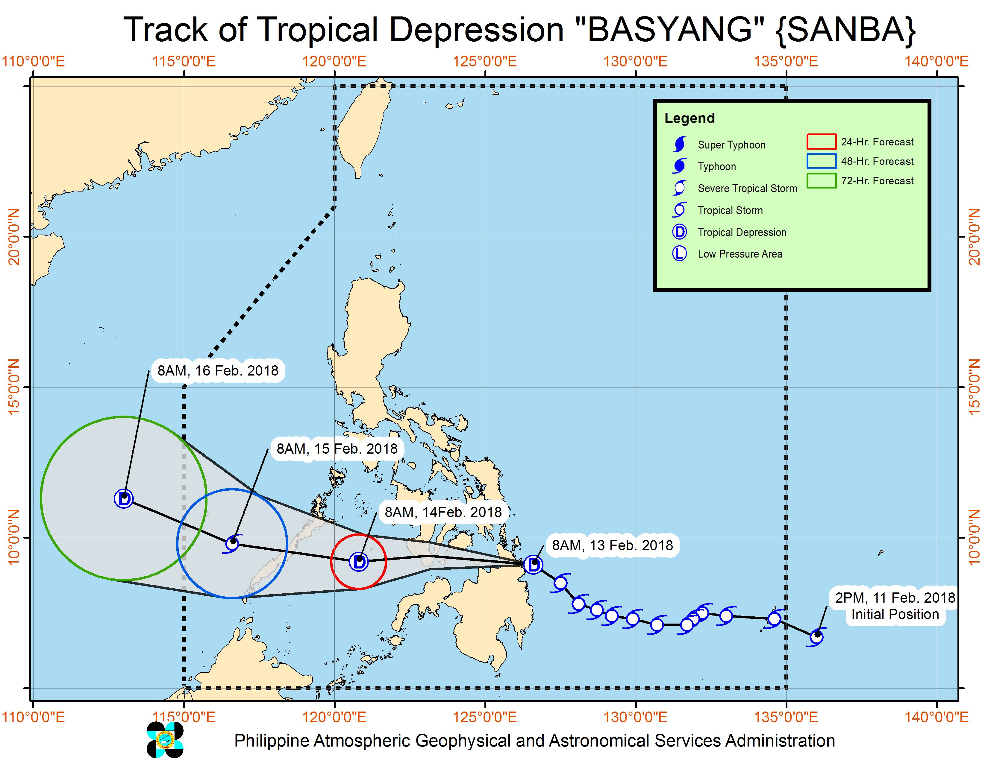Basyang weakens into tropical depression after landfall
