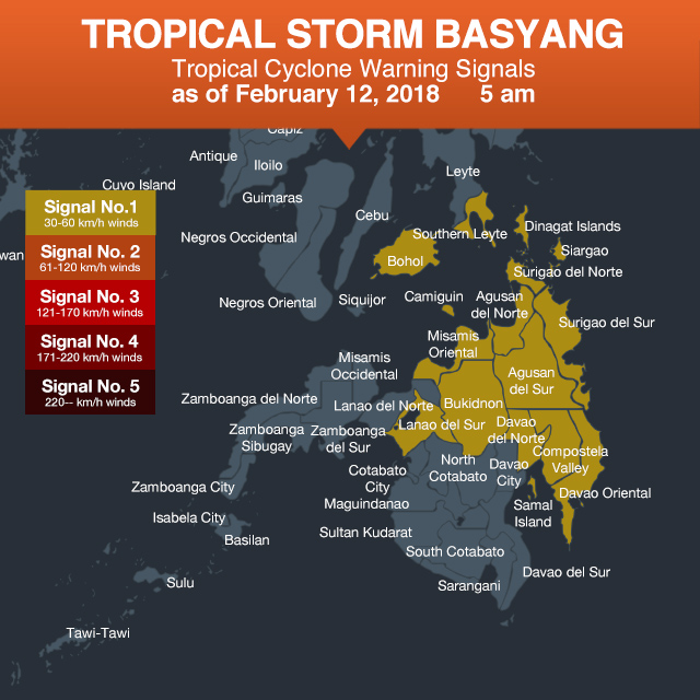 Tropical Storm Basyang Slows Down As It Heads For Mindanao