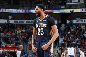aa4a662ad Anthony Davis has listed the Los Angeles Lakers among the clubs he would