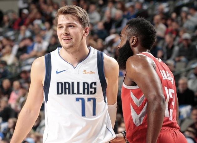 47ef773abba Rookie Doncic powers Mavericks past Rockets